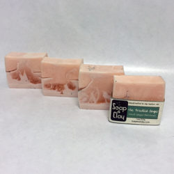 freckled ginger artisan soap