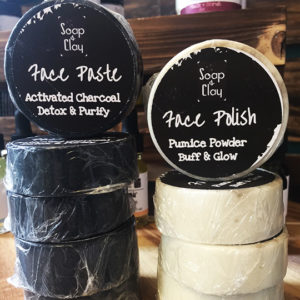 pumice powder face soap activated charcoal face soap
