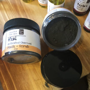 activated charcoal face mask for aging and acne