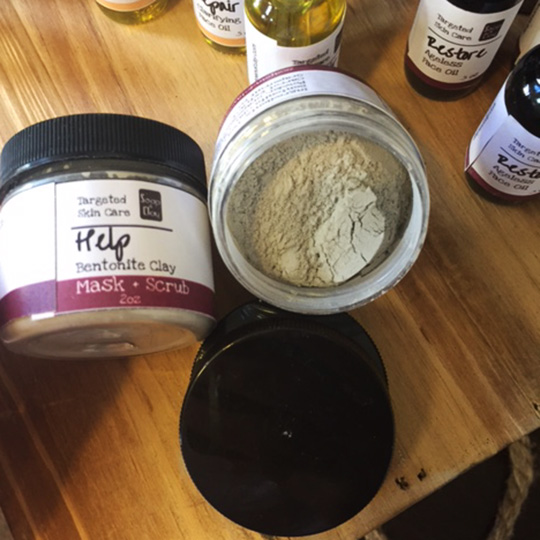 bentonite clay mask for all skin types