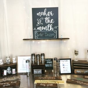 maker of the month
