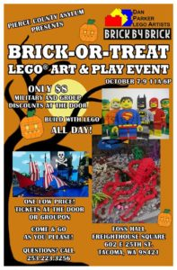 brick-or-treat city blocks lego store
