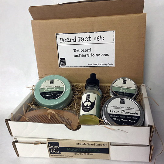 natural beard care
