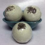 green tea bath bomb