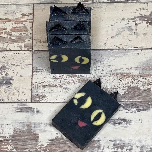 black cat soap